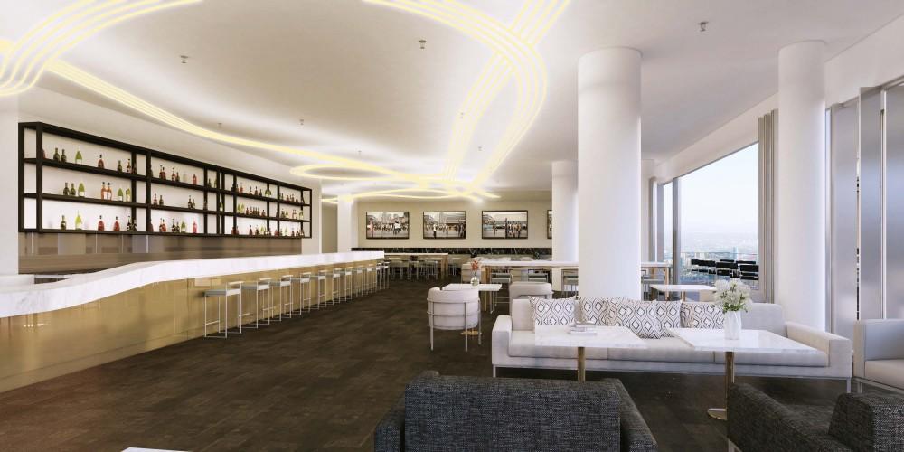 M Docklands lobby render